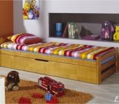 Łóżko parterowe Erni