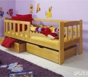Łóżko parterowe Grześ