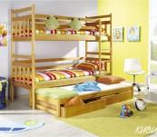 Łóżko trzyosobowe Kubuś 3