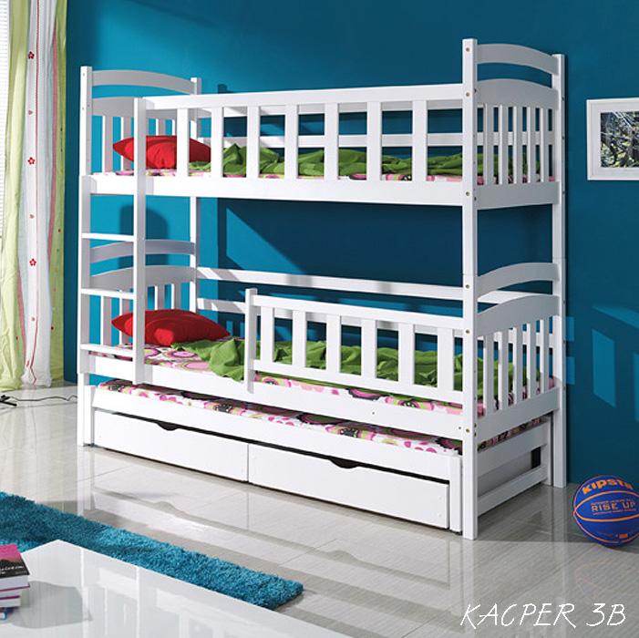 łóżko Trzyosobowe Kacper 3 Dorex